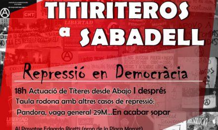 "Els ""Titiriteros"" actuen a Sabadell"