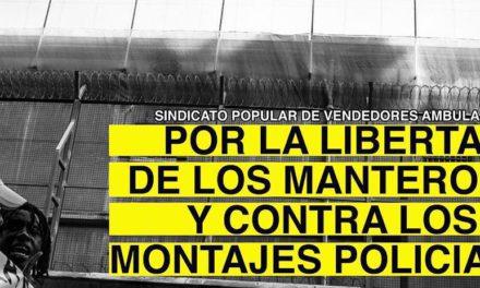 Campanya per la llibertat dels manters empresonats