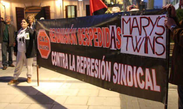 [El Prat] Continua la lluita per les companyes acomiadades de Mary's Twins