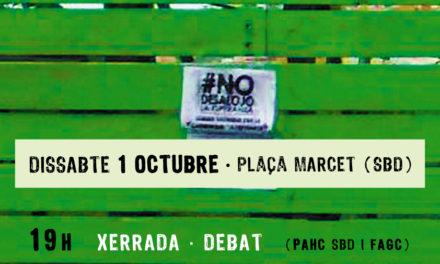 """La FAGC, impulsora de la comunitat ocupada """"La Esperanza"""" participarà a una jornada sobre l'autogestió de l'habitatge a Sabadell."""