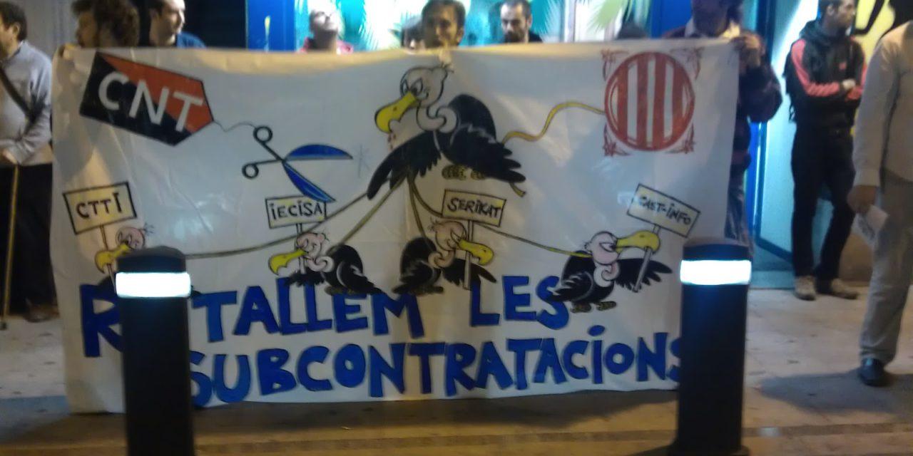 La CNT de Barcelona dona una bufetada milionària a El Corte Inglés: IECISA inhabilitada per a treballar amb el sector públic