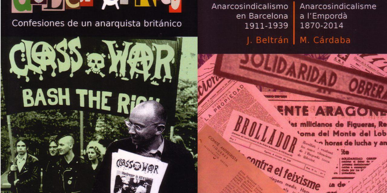 Novetats editorials d'El Grillo Libertario
