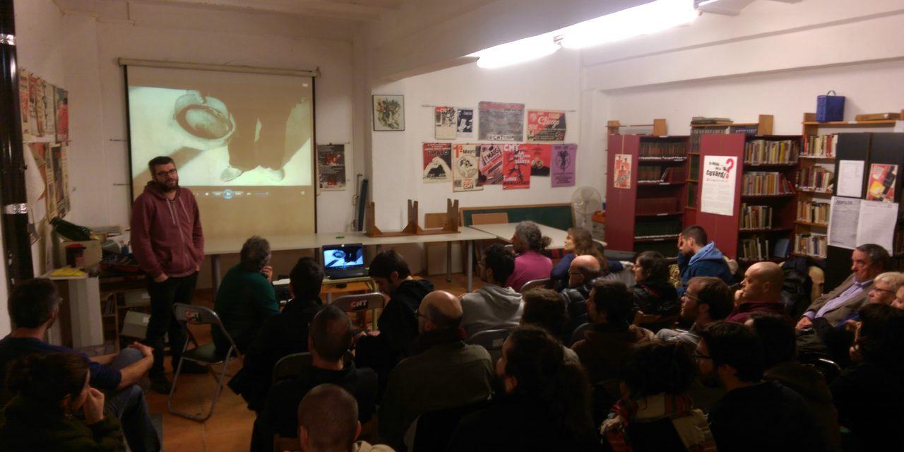 "Estrena del documental ""Memòria Viva"" a la CNT de Sabadell"