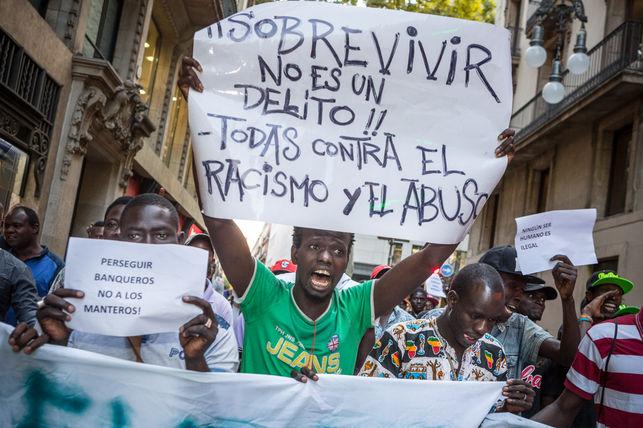 Comunicat de la CNT de Barcelona sobre la situació de les treballadores de carrer