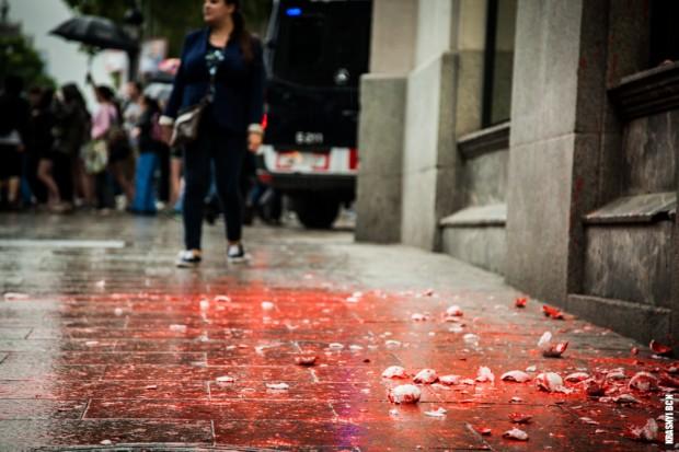 El justo tiempo de la revolución (II.I) El terror al caos. Un mundo irrespirable