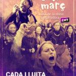 [Feminisme] 8 de Març. Cada lluita és una victòria
