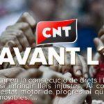 Comunicat de la CNT catalana a favor del dret d'autodeterminació del poble català