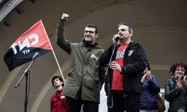 14N: El NO-CAS de la No-JUSTÍCIA. Condemnes a presó als nostres companys Jorge i Pablo