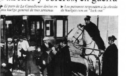 """La vaga de """"La Canadenca"""" i l'establiment de la jornada de vuit hores a l'Estat espanyol"""
