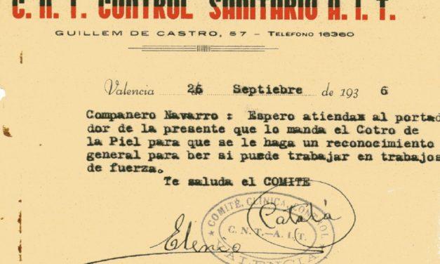 LA SANITAT EN LA REVOLUCIÓ SOCIAL DE 1936