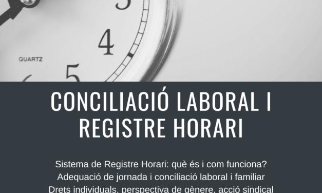 [Sindical] Conciliació laboral i registre horari