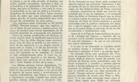 [Memòria] Una carta d'Emma Goldman a Dones Lliures de la CNT