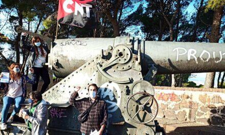 [Sindical] Noves accions informatives de la Secció CNT-ALS al Castell de Montjuïc